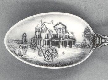 Pleasant View Souvenir Spoons (1898)