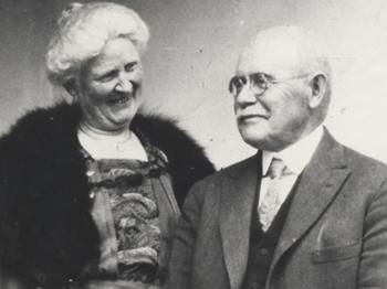 Laura and Albert Conant