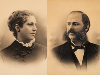 Caroline and Edward Bates