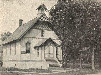 First Branch Church was in Wisconsin (1886)