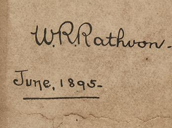 William Rathvon's Pocket Journal
