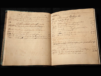 Mark Baker's Ledger (1829-1855)
