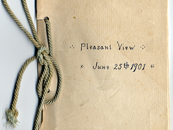Visit to Pleasant View (1901)
