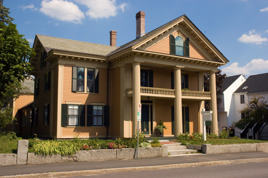Mrs. Eddy's home in Concord, New Hampshire.