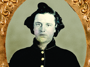 Mrs. Eddy's Son Fought in the Civil War