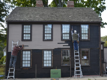 Up close with the Amesbury Restoration